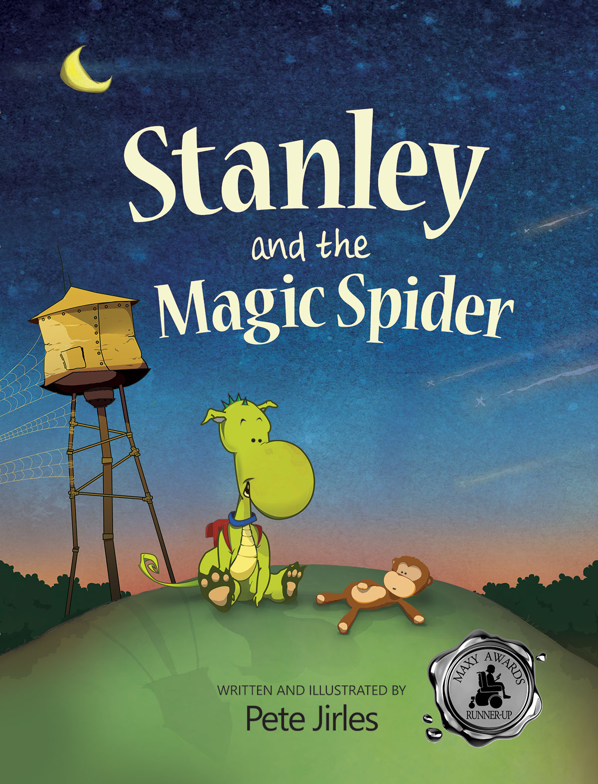 Stanley and the Magic Spider full cover